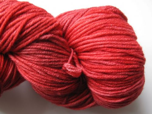 Apples & Pears Fine merino DK - Coral Red